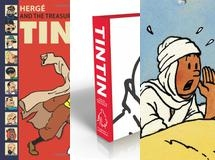 Tintin, Art of